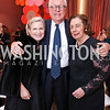 Heather Kirby and James Johnson, Ann Jordan. Photo by Tony Powell. 2017 Kennedy Center Spring Gala. May 8, 2017