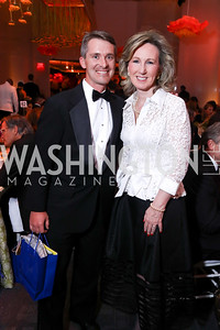 Mike Conway, Rep. Barbara Comstock. Photo by Tony Powell. 2017 Kennedy Center Spring Gala. May 8, 2017