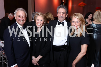 Honorees Sandy and Joan Weill, Mark Weill, and Madelyn Weill. Photo by Tony Powell. 2017 Kennedy Center Spring Gala. May 8, 2017