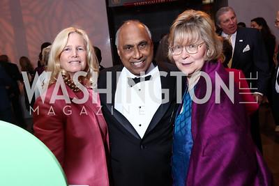 Susan Blumemthal, Frank Islam, Debbie Driesman. Photo by Tony Powell. 2017 Kennedy Center Spring Gala. May 8, 2017