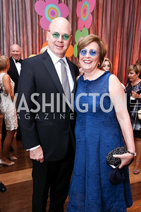 Peter Ellefson and Deborah Rutter. Photo by Tony Powell. 2017 Kennedy Center Spring Gala. May 8, 2017