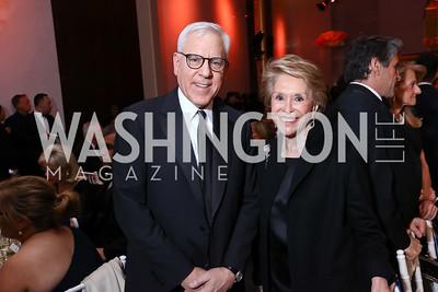 David Rubenstein, Honoree Joan Weill. Photo by Tony Powell. 2017 Kennedy Center Spring Gala. May 8, 2017