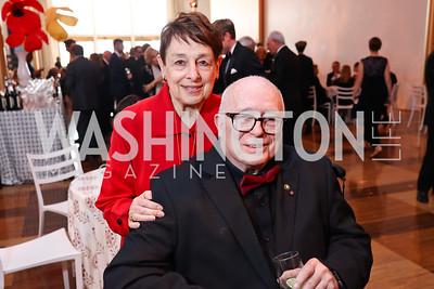 Marian Burros, Joe Duffey. Photo by Tony Powell. 2017 Kennedy Center Spring Gala. May 8, 2017