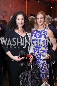 Dafna Tapiero, Katharine Weymouth. Photo by Tony Powell. 2017 Kennedy Center Spring Gala. May 8, 2017