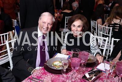 Joseph and Alma Gildenhorn. Photo by Tony Powell. 2017 Kennedy Center Spring Gala. May 8, 2017
