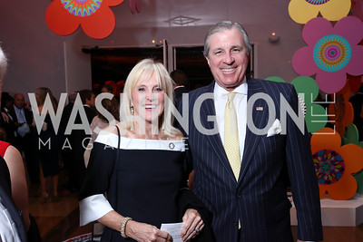 Laurie and Bob Monahan. Photo by Tony Powell. 2017 Kennedy Center Spring Gala. May 8, 2017