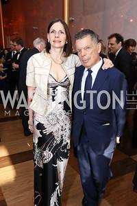 Ludmila and Conrad Cafritz. Photo by Tony Powell. 2017 Kennedy Center Spring Gala. May 8, 2017