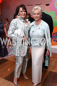 Grace Bender, Mary Ourisman. Photo by Tony Powell. 2017 Kennedy Center Spring Gala. May 8, 2017