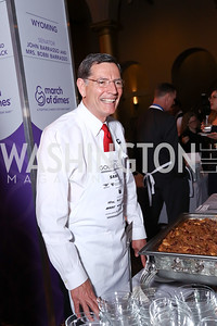 Sen. John Barrasso. Photo by Tony Powell. 2017 March of Dimes Gourmet Gala. Building Museum. May 23, 2017
