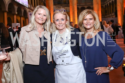Melinda Maxfield, Rep. Debbie Dingell, Melissa Maxfield. Photo by Tony Powell. 2017 March of Dimes Gourmet Gala. Building Museum. May 23, 2017
