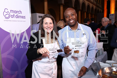 Rep. Diana Degette, Sen. Tim Scott. Photo by Tony Powell. 2017 March of Dimes Gourmet Gala. Building Museum. May 23, 2017