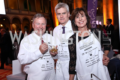 Rep. Doug Lamborn, Sen. Bill Cassidy and Dr. Laura Layden Cassidy. Photo by Tony Powell. 2017 March of Dimes Gourmet Gala. Building Museum. May 23, 2017