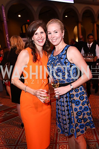 Lindsay Angerholzer, Kelley Williams. Photo by Tony Powell. 2017 March of Dimes Gourmet Gala. Building Museum. May 23, 2017
