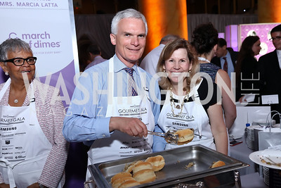 Rep. Bob Latta and Marcia Latta. Photo by Tony Powell. 2017 March of Dimes Gourmet Gala. Building Museum. May 23, 2017