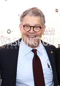 Sen. Al Franken. Photo by Tony Powell. 2017 Mark Twain Prize. Kennedy Center. October 22, 2017