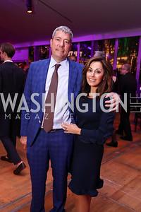 Henry and Lindsay Ellenbogen. Photo by Tony Powell. 2017 Mark Twain Prize. Kennedy Center. October 22, 2017