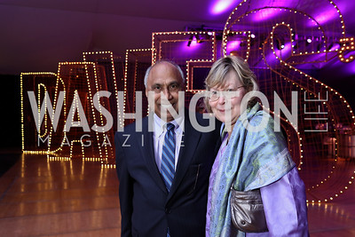 Frank Islam, Debbie Driesman. Photo by Tony Powell. 2017 Mark Twain Prize. Kennedy Center. October 22, 2017