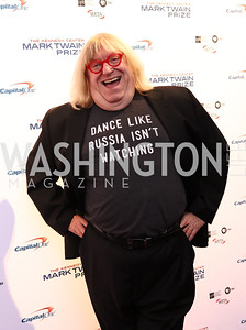 Bruce Vilanch. Photo by Tony Powell. 2017 Mark Twain Prize. Kennedy Center. October 22, 2017