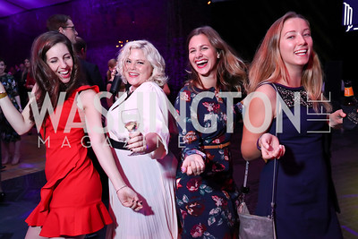 Amy Horan, Nikki Grizzle, Maddie Hagerman, Hayley McGuirl. Photo by Tony Powell. 2017 Mark Twain Prize. Kennedy Center. October 22, 2017