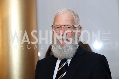 David Letterman. Photo by Tony Powell. 2017 Mark Twain Prize. Kennedy Center. October 22, 2017