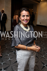 "Martha Parra. Photo by Tony Powell. 2017 Mary's Center ""Noche Tropical.""  October 6, 2017"