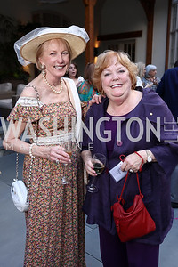 Lola Reinsch, Ann Page. Photo by Tony Powell. McLean Project for the Arts. Bullock Residence. May 18, 2017