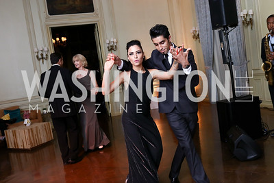 Marsha Bonet, Rafael Farina. Photo by Tony Powell. 2017 Meridian Ball. October 20, 2017