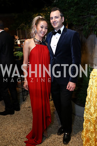 Anchyi Wei, Michael Clements. Photo by Tony Powell. 2017 Meridian Ball. October 20, 2017