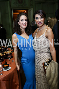 Sarah Aburdene, Samar Langhorne. Photo by Tony Powell. 2017 Meridian Ball. October 20, 2017