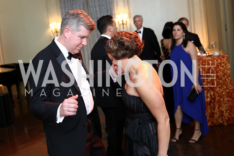 Kevin Keeley, Amy Selco. Photo by Tony Powell. 2017 Meridian Ball. October 20, 2017