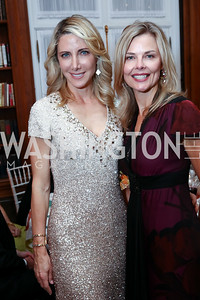 Loran Aiken, Christina Culver. Photo by Tony Powell. 2017 Meridian Ball. October 20, 2017