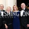 Phil and Melanne Verveer, Alexa Verveer and Jeff Houle. Photo by Tony Powell. 2017 Meridian Ball. October 20, 2017