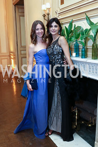 Urska Petrovcic, Juliana Fonseca. Photo by Tony Powell. 2017 Meridian Ball. October 20, 2017
