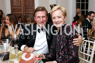 Rep. Don Beyer, Ann Stock. Photo by Tony Powell. 2017 Meridian Ball. October 20, 2017