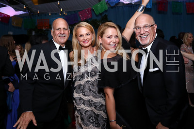 Dave and Jamie Dorros, Andrea and Peter Rinaldi. Photo by Tony Powell. 2017 Meridian Ball. October 20, 2017