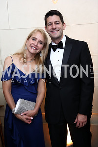 Jana Ryan and Speaker Paul Ryan. Photo by Tony Powell. 2017 Meridian Ball. October 20, 2017