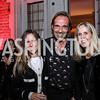 Rosa de la Cruz, Marc Reynier, Isabel Ernst. Photo by Tony Powell. 2017 Michelin Guide. Residence of France. October 17, 2017