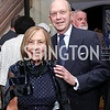 Susan Rappaport, John Irelan. Photo by Tony Powell. 2017 Michelin Guide. Residence of France. October 17, 2017