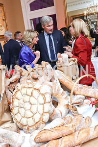 Kathleen Kennedy Townsend, Sen. Sheldon Whitehouse, Paula Dobriansky. Photo by Tony Powell. 2017 Michelin Guide. Residence of France. October 17, 2017
