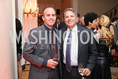 Alex Levin, Steve Elmendorf. Photo by Tony Powell. 2017 Michelin Guide. Residence of France. October 17, 2017