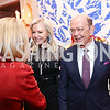Hilary Ross and Sec. Wilbur Ross. Photo by Tony Powell. 2017 Michelin Guide. Residence of France. October 17, 2017