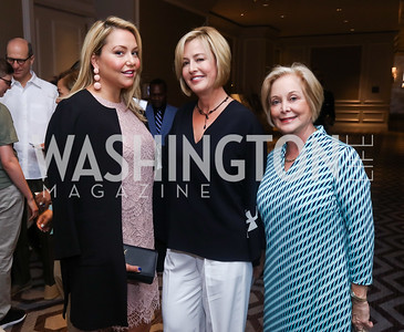 Andrea Rinaldi, Jacqui Michel, Adrienne Hensley. Photo by Tony Powell. 2017 N Street Village Luncheon. June 15, 2017