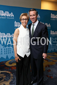 Schroeder Stribling, Arne Sorenson. Photo by Tony Powell. 2017 N Street Village Gala. Marriott Marquis. March 14, 2017