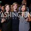 Hannah Berl, Stephanie Ward, Jennifer Lee. Photo by Tony Powell. 2017 N Street Village Gala. Marriott Marquis. March 14, 2017