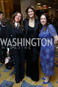 Aksenia Krupenko, Lala Abdurahimova, Allyson Waldrep. Photo by Tony Powell. 2017 N Street Village Gala. Marriott Marquis. March 14, 2017