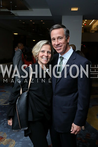 Ruth and Arne Sorenson. Photo by Tony Powell. 2017 N Street Village Gala. Marriott Marquis. March 14, 2017