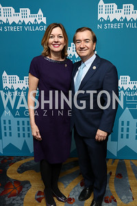 Marie Royce and Rep. Ed Royce. Photo by Tony Powell. 2017 N Street Village Gala. Marriott Marquis. March 14, 2017