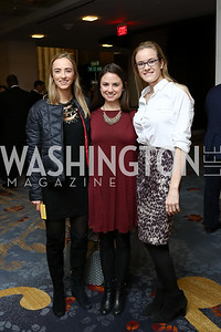Ali Cox, Julene Latter, Cara Peterson. Photo by Tony Powell. 2017 N Street Village Gala. Marriott Marquis. March 14, 2017