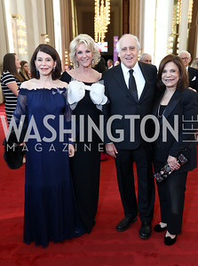 JoAnn Mason, Elaine Wynn, Dan and Rhoda Glickman. Photo by Tony Powell. 2017 NSO Gala. Kennedy Center. September 24, 2017