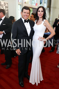 Bret and Amy Baier. Photo by Tony Powell. 2017 NSO Gala. Kennedy Center. September 24, 2017
